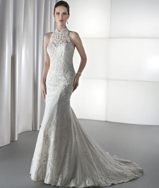 abito da sposa, stile tubino ,stile  colonna 9