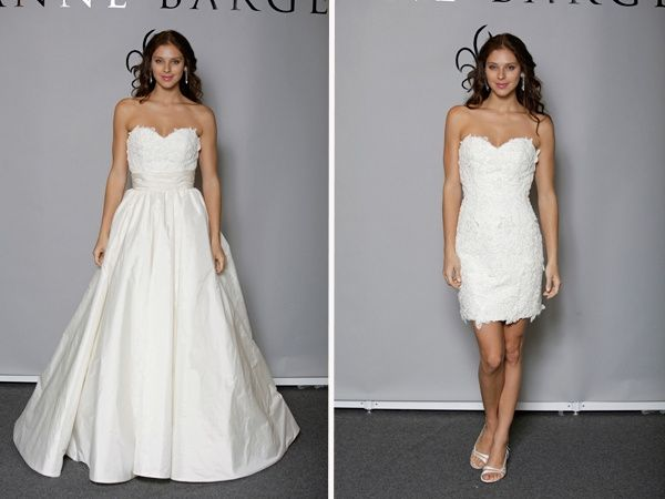 abito da sposa, stile dual dress 12