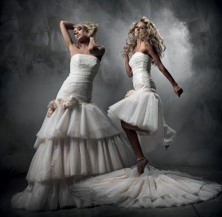 abito da sposa, stile dual dress 16