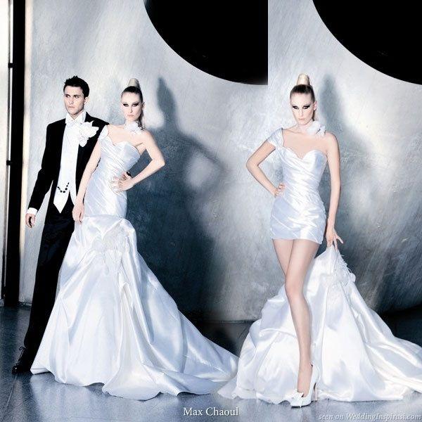 abito da sposa, stile dual dress 17