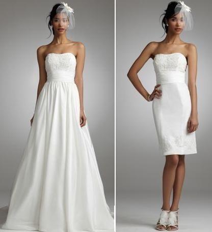 abito da sposa, stile dual dress 18