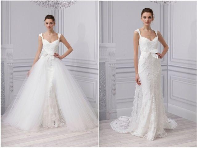 abito da sposa, stile dual dress 19