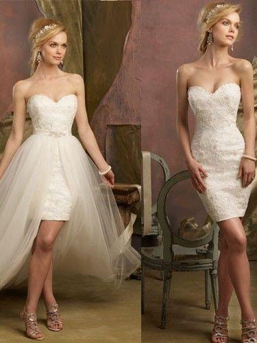 abito da sposa, stile dual dress 20