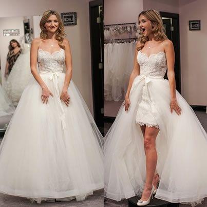 abito da sposa, stile dual dress 21