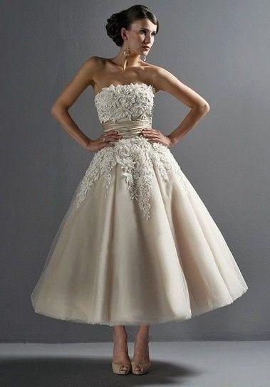 e03fe9581d1d Abito da sposa 19 - stile longuette - Moda nozze - Forum Matrimonio.com