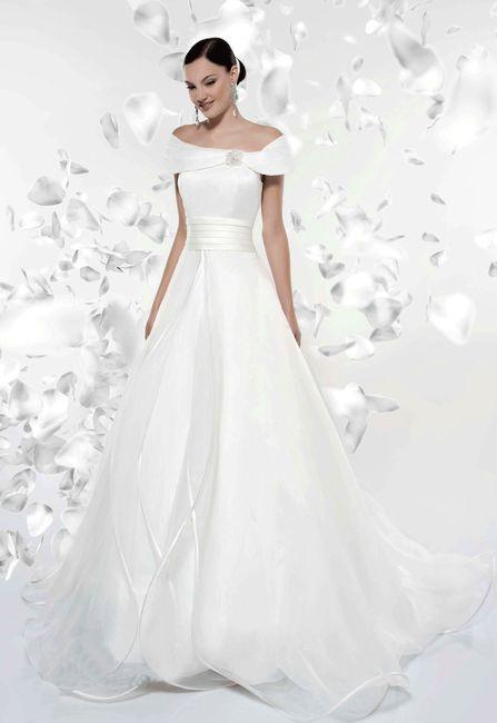 abito da sposa, stile scollo omerale 4
