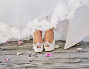 accessori da sposa - peep toe