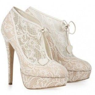 accessori da sposa - scarpa con plateau 3