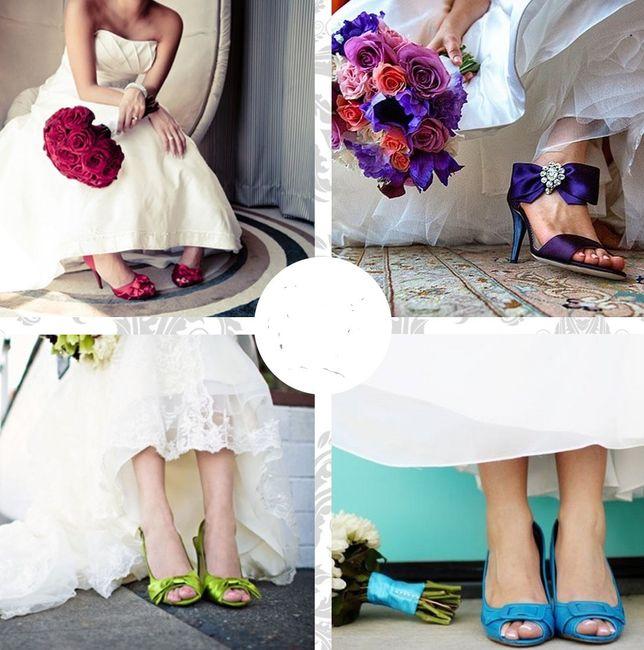 Sposa Scarpe Colorate.Guida Agli Accessori Da Sposa 3 Le Scarpe Moda Nozze Forum