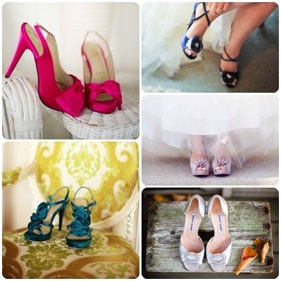 accessori da sposa - scarpa COLORATA 2