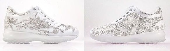 accessori da sposa - scarpe ginnastica 2