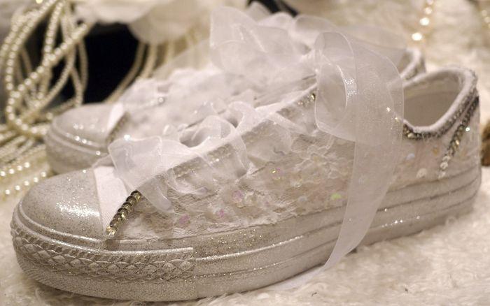 accessori da sposa - scarpe ginnastica 5