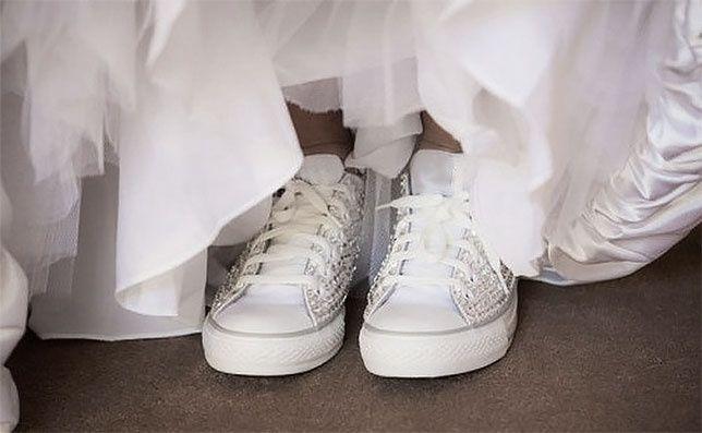 accessori da sposa - scarpe ginnastica 6