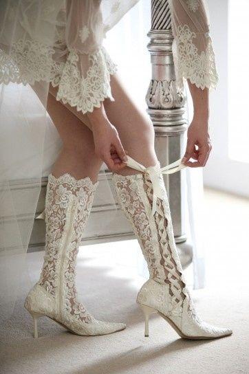 accessori da sposa - stivali 2