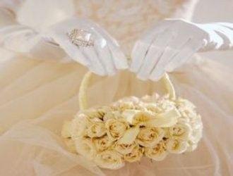 accessori da sposa , borsetta fiori 2