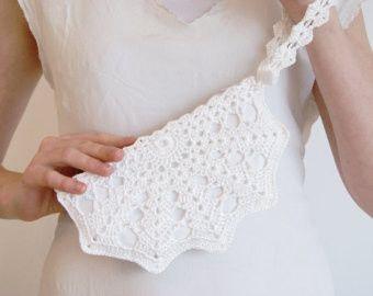accessori da sposa , borsetta tessuto abito