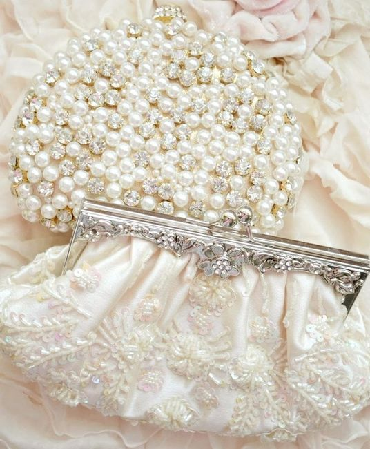 accessori da sposa , borsetta perle 2