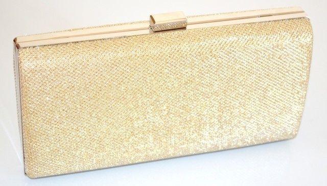 accessori da sposa , borsetta dorata 1