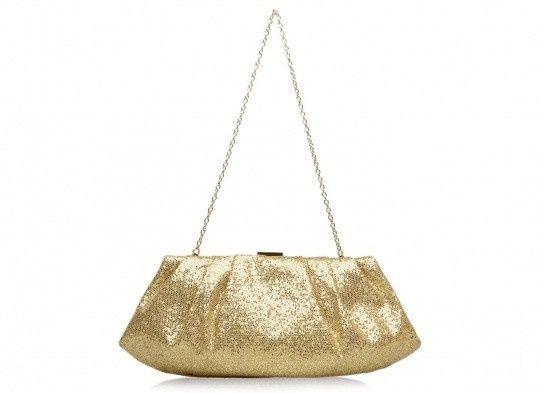 accessori da sposa , borsetta dorata 2