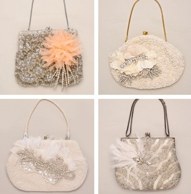 accessori da sposa , borsetta vintage