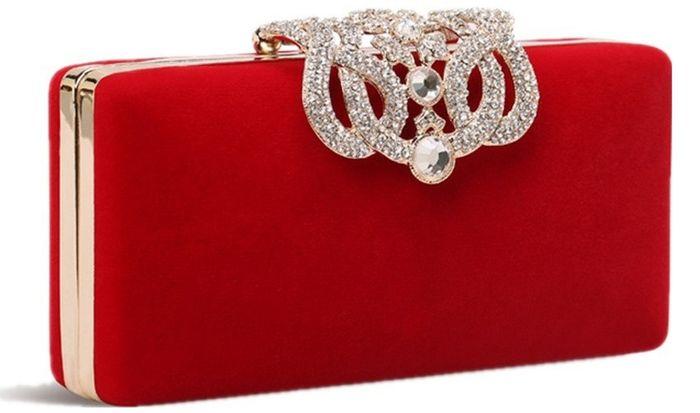 accessori da sposa , borsetta colorata 4