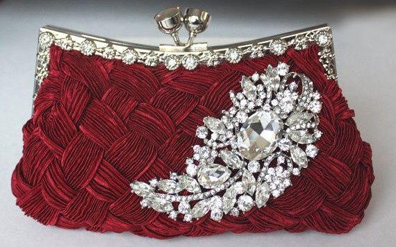 accessori da sposa , borsetta colorata 5