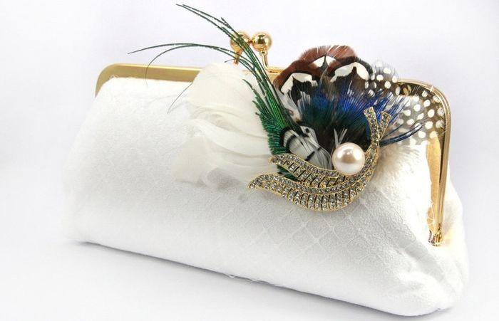 accessori da sposa , borsetta vintage 3