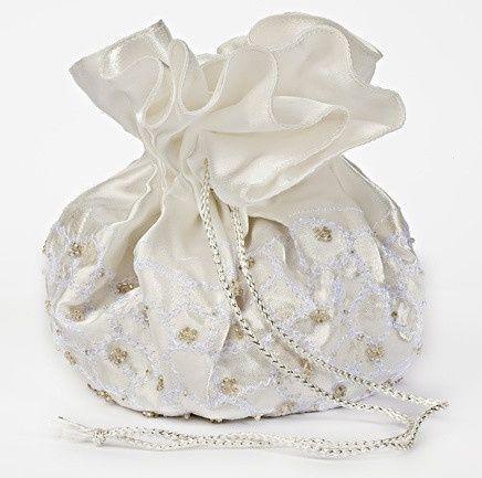 accessori da sposa , borsetta a sacchetto