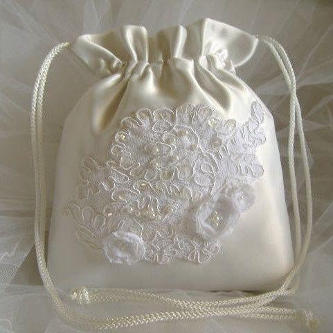 accessori da sposa , borsetta a sacchetto 2
