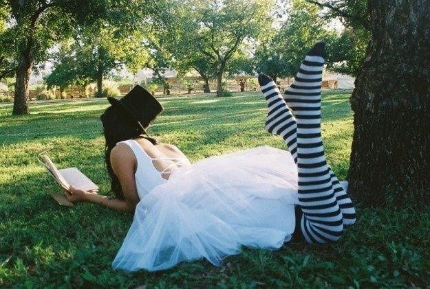 accessori da sposa - calze, abito corto, calza fantasia 1