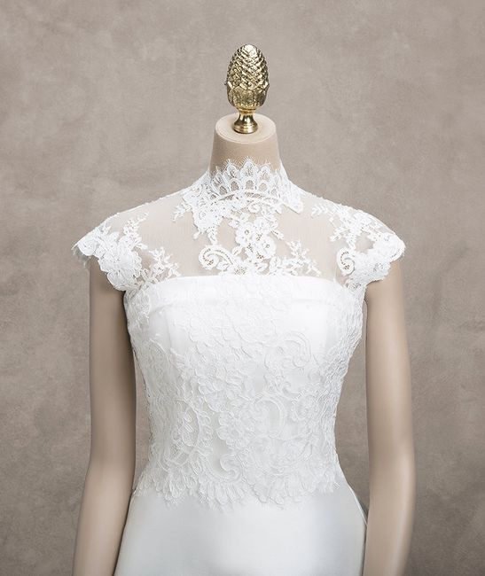 accessori da sposa , coprispalla , bolero 1