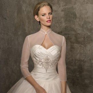 accessori da sposa , coprispalla , bolero  6