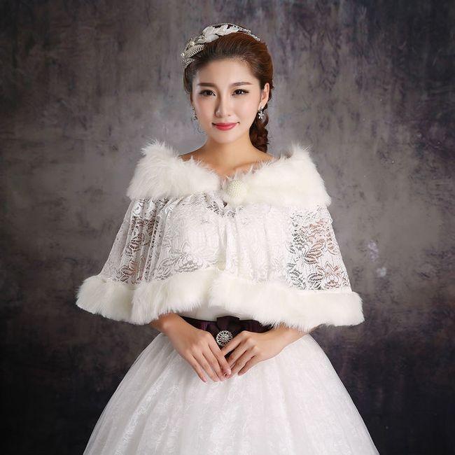 accessori da sposa , coprispalle, cappa 1