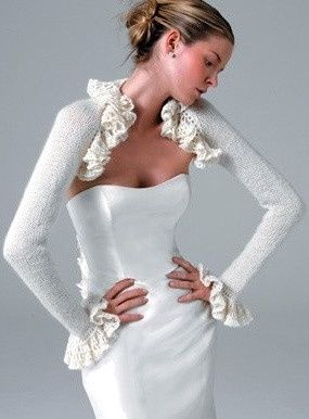 accessori da sposa , coprispalle 2