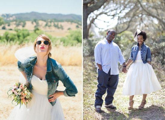 Al Matrimonio In Jeans : Giacche per la sposa