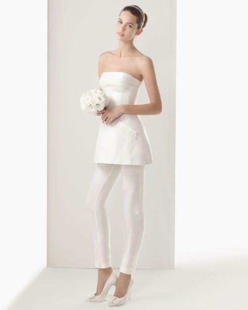 09e3b60509fb Abito da sposa 28 - stile coi pantaloni - Moda nozze - Forum ...