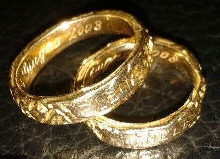 accessori sposi, fedi nuziali, modello etrusca - Foto Moda nozze