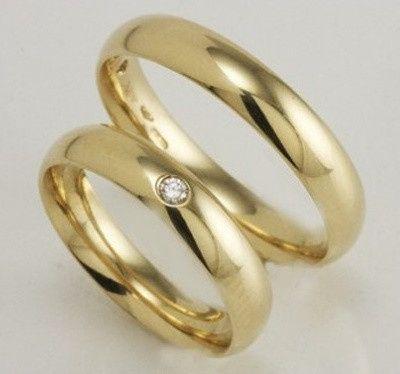 accessori sposi, fedi nuziali, modello fede con pietre preziosi - Foto ...