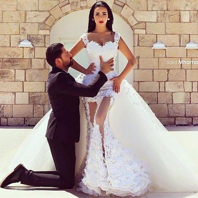 a26968e2838d Abiti da sposa da sogno  la proposta di oggi 07 01 2016   si o no ...