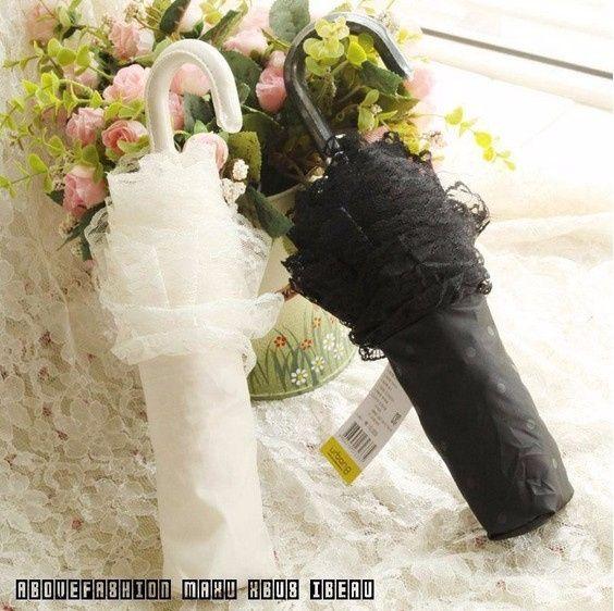 Guida agli accessori da sposa 9 - l'ombrello - pieghevole