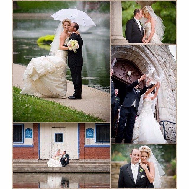 Guida agli accessori da sposa 9 - l'ombrello - bianco