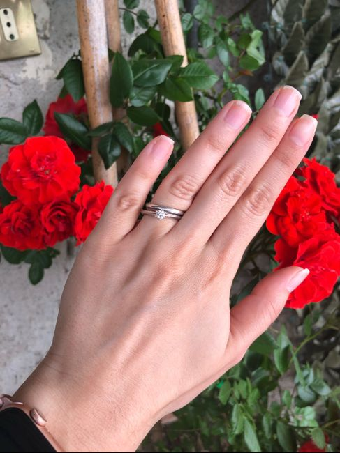 I vostri anelli di fidanzamento: vogliamo vederli! 14