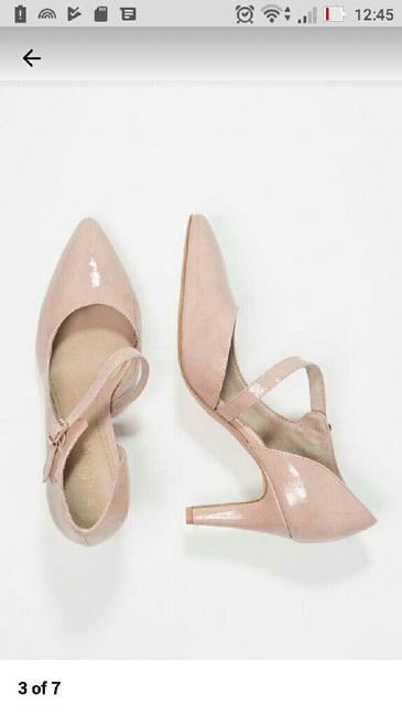 authorized site low cost best sell Scarpe rosa o scarpe oro e vestito avorio - Moda nozze ...