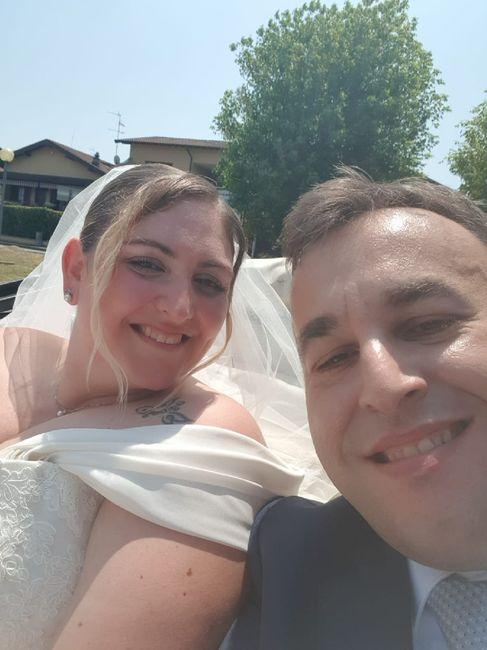 Il primo Selfie da sposati!! 😜❤️📷💒 12