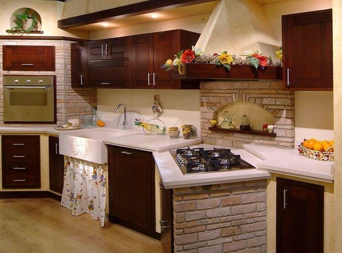 Cucina finta muratura - Vivere insieme - Forum Matrimonio.com