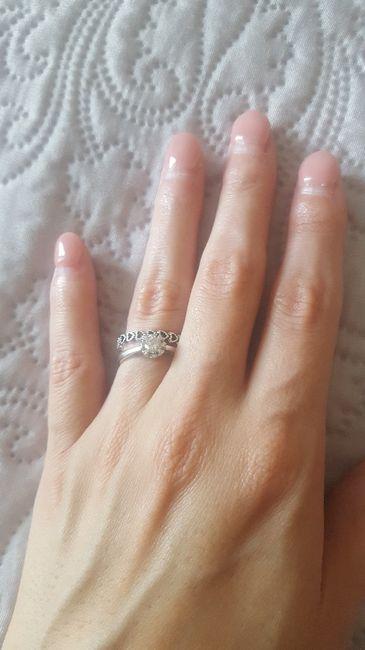 Mi fate vedere il vostro anello della proposta?? 3
