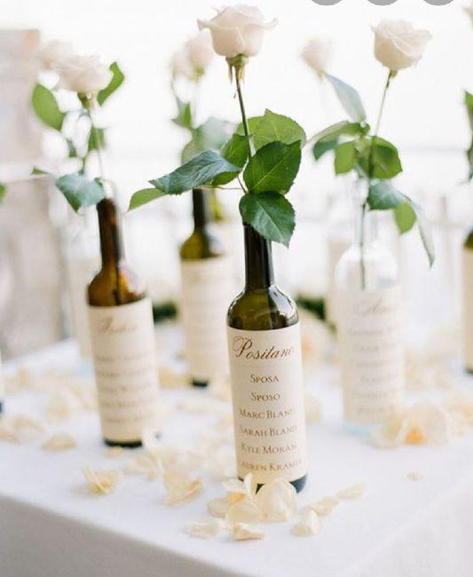 Matrimonio tema vino - 1