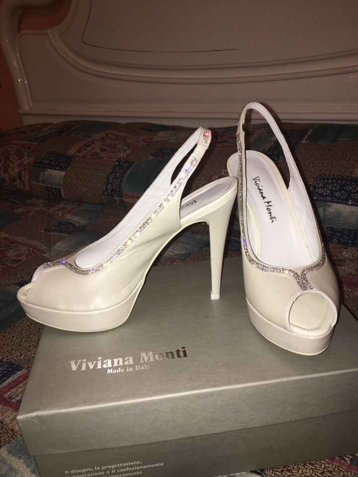 Aiuto per scarpe da sposa - 1