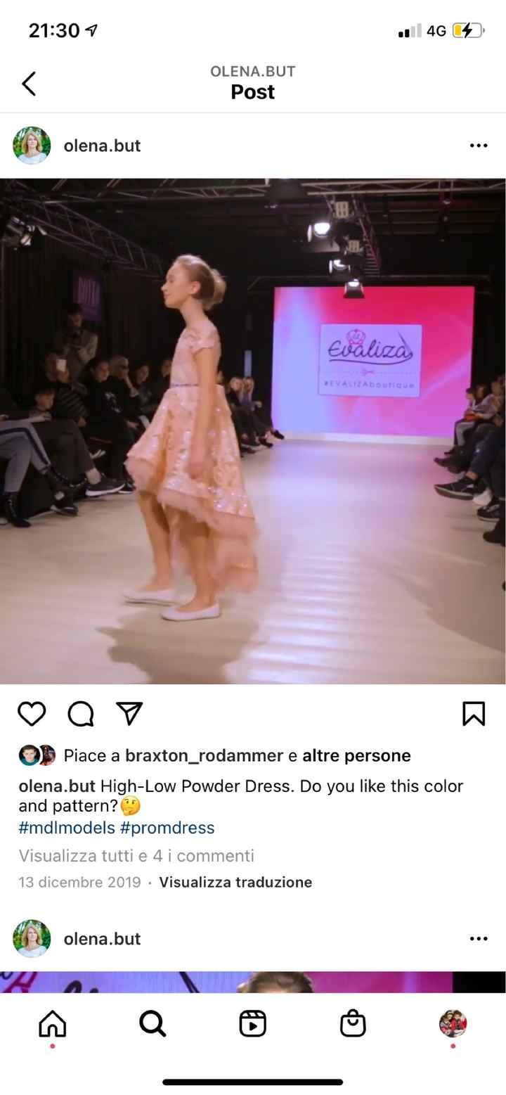 Vestito damigella - 3