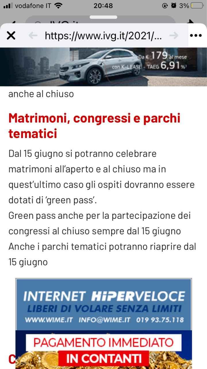 Green pass invitati - 1